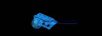 3x2 5 wago 2273 203. Black Bedroom Furniture Sets. Home Design Ideas